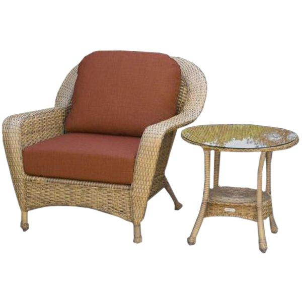 Sea Pines Chair & Side Table Bundle Chair & Side Table