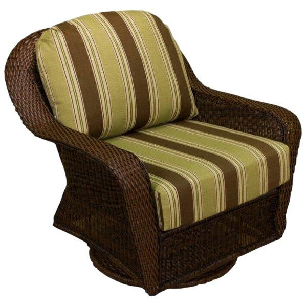 Sea Pines Swivel Gliding Club Chair Club Chair