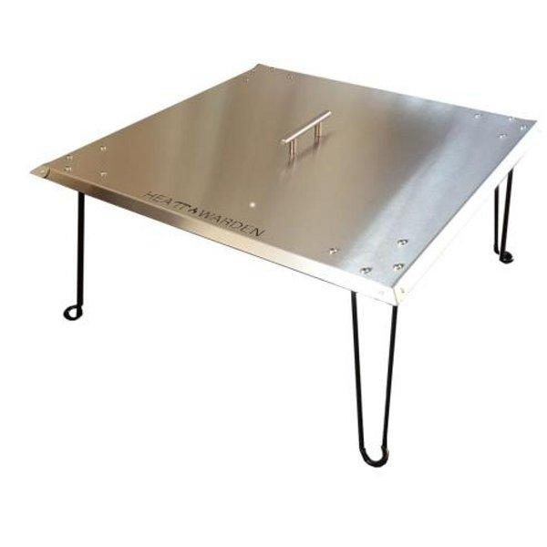 Stainless Steel Heat Deflector Fire Pit Fire Pits