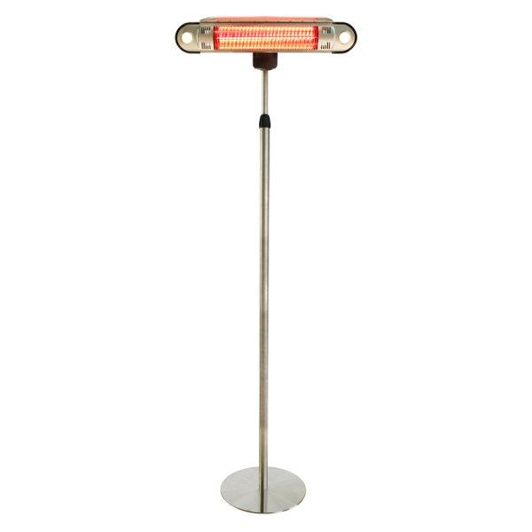 Tall Adjustable Infrared Heat Lamp with LED lights Heat Lamp