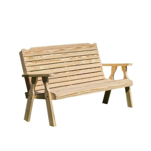 Treated Pine Crossback Garden Bench