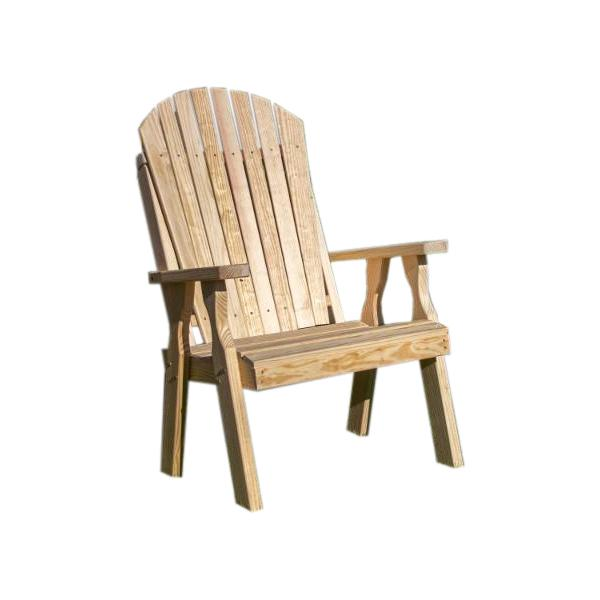 Treated Pine Curveback Patio Chair