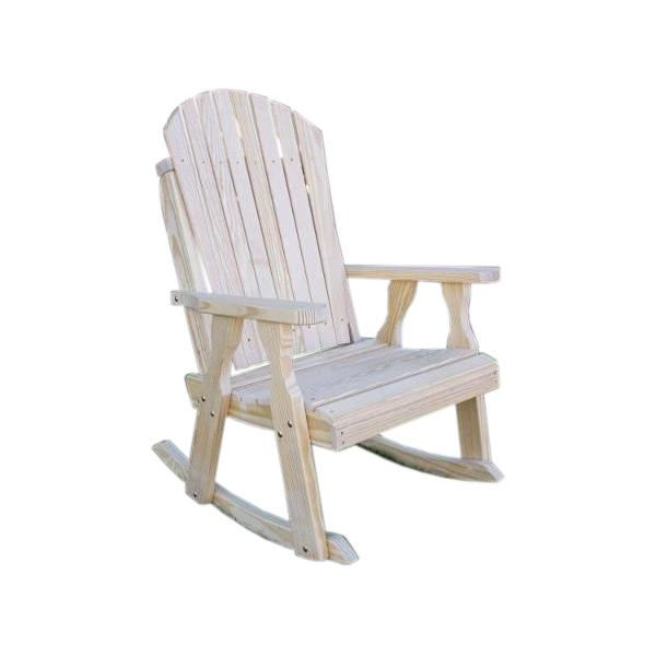 Treated Pine Curveback Rocking Chair
