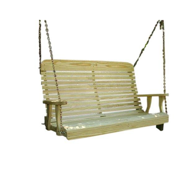 Treated Pine High Crossback Porch Swing