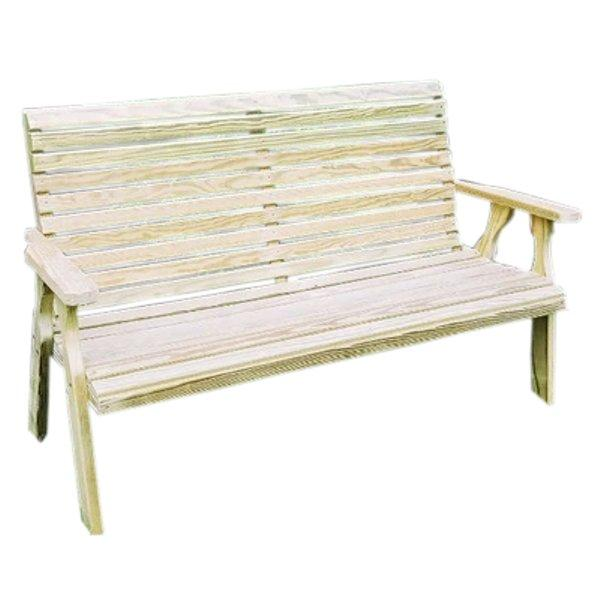 Treated Pine Rollback Garden Bench