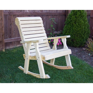 Treated Pine Rollback Rocking Chair