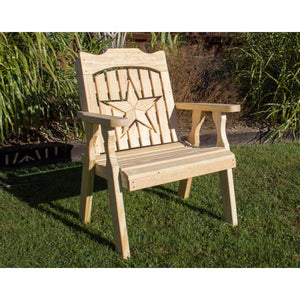 Treated Pine Starback Chair