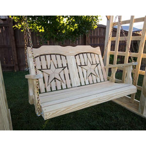 Treated Pine Starback Porch Swing