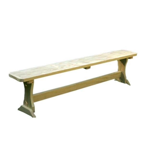 Treated Pine Trestle Garden Bench