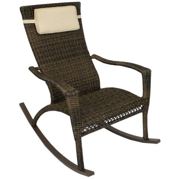 Tuscan Lorne Rocking Chair With Head Cushion Rocking Chair