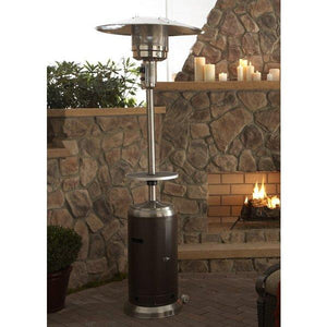 Two Tone Outdoor Patio Heater With Table Patio Heater