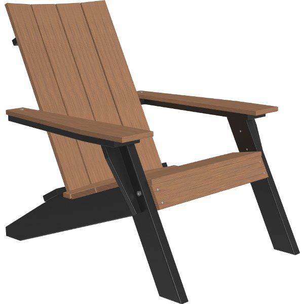 Urban Adirondack Chair Adirondack Chair Antique Mahogany & Black