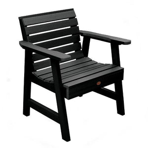Weatherly Outdoor Garden Chair Chair Black