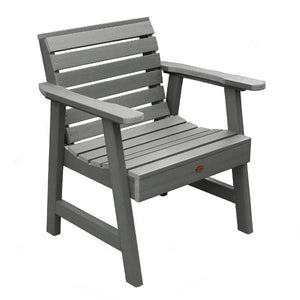Weatherly Outdoor Garden Chair Chair Coastal Teak