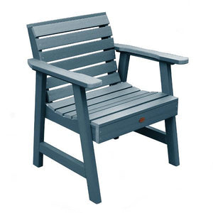 Weatherly Outdoor Garden Chair Chair Nantucket Blue