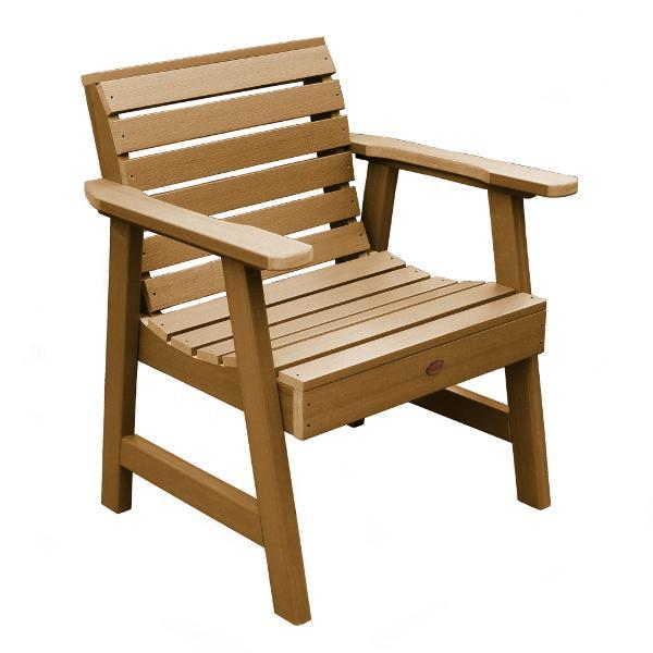 Weatherly Outdoor Garden Chair Chair Toffee