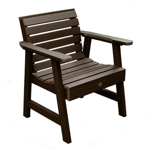 Weatherly Outdoor Garden Chair Chair Weathered Acorn