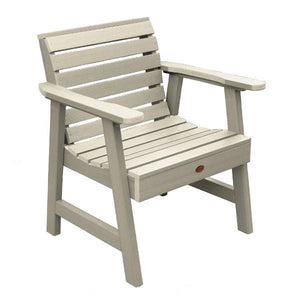Weatherly Outdoor Garden Chair Chair Whitewash
