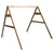 Western Red Cedar 5' 2x4 A-Frame Swing Stand for 2 Chair Swings (Hangers Included)
