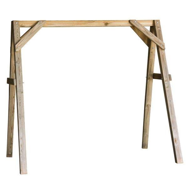 Wood A-Frame for Porch Swing