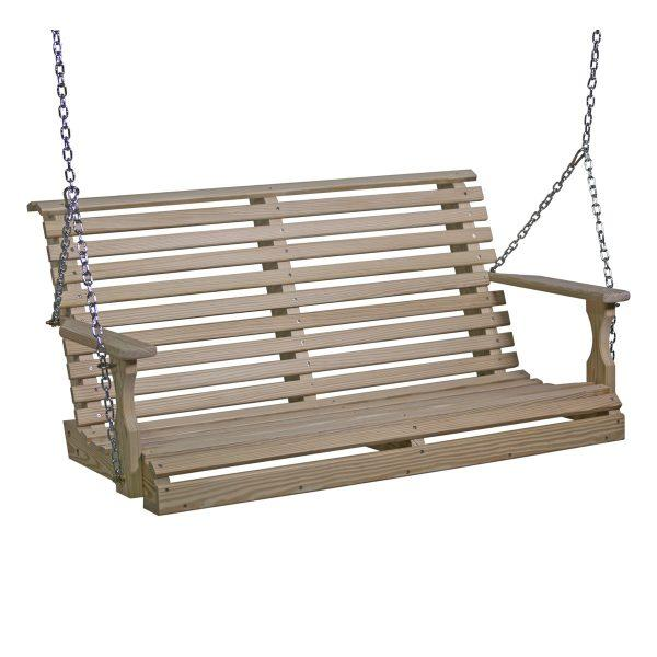 Wood Plain Swing