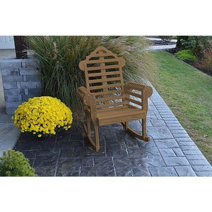 Yellow Pine Marlboro Porch Rocker