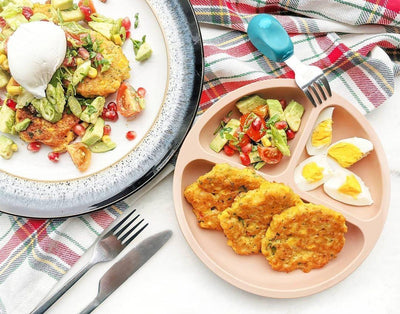 Sweetcorn Fritters & Avocado Salad