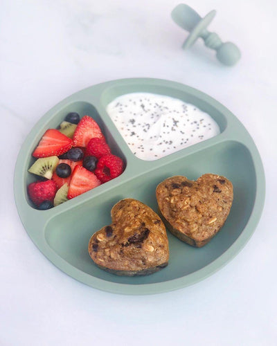 Heart Shaped Oatmeal Bakes