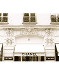 Chanel Store 31 Rue Cambon Paris, France