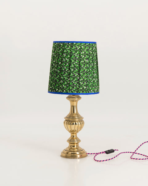 Fat brass lamp