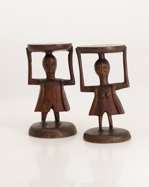Girl and Boy stools