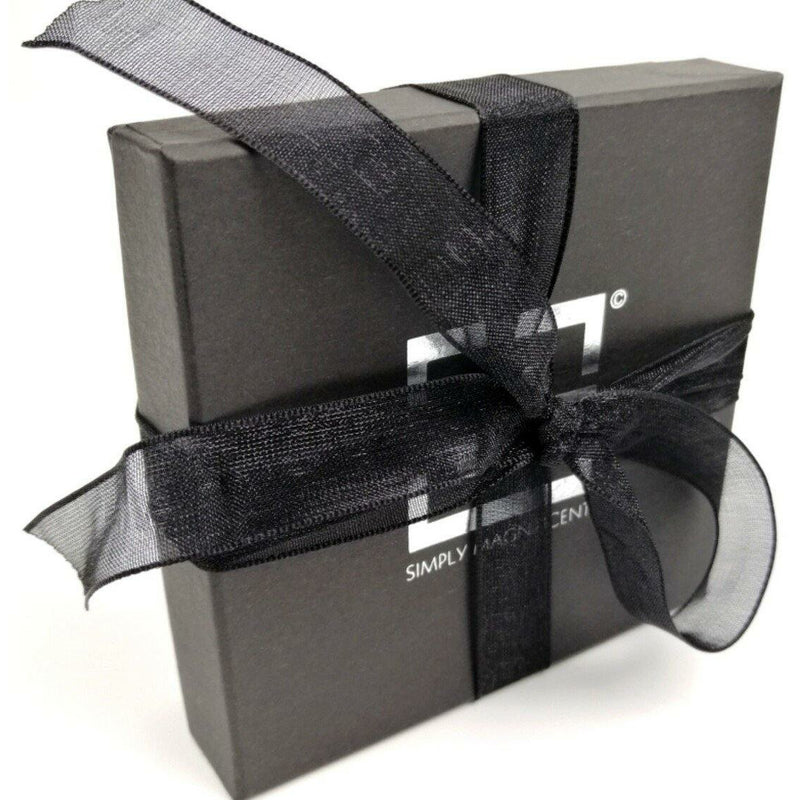 Simply Magnificent presentation box with ribbon