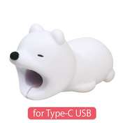 CABLE BITE for Type-C USB Polar Bear
