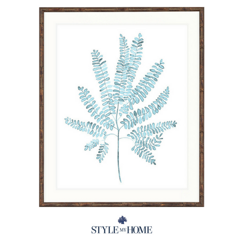 Pale Blue Foliage I Collection Designer Boys