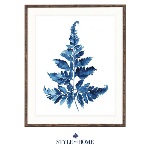 Indigo Foliage II Collection Designer Boys
