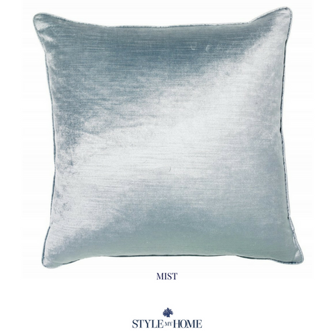 Roma Luxury Velvet Cushions with Feather Insert