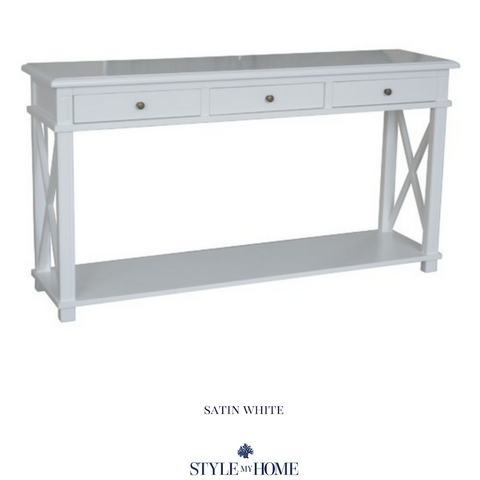 Overstocked Best Seller - 'SOUTH BEACH' Three Drawer Console
