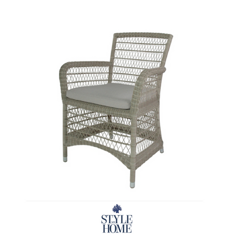 Hamptons Style Outdoor Furniture Dining Chair from Style My Home Australia