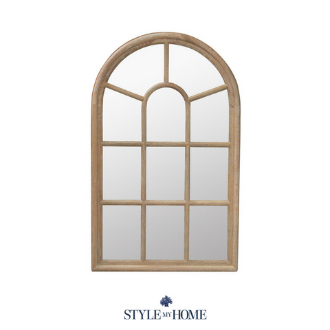Cathedral Arched Wall Mirror