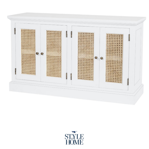 'WHITEHAVEN' Coastal Buffet with Rattan