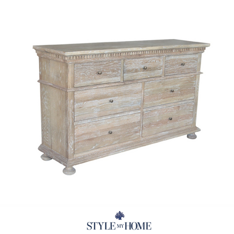 'REGENCY' Seven Drawer Chest