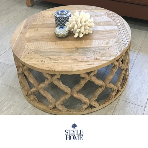 'Sahara' Recycled Elm Coffee Table