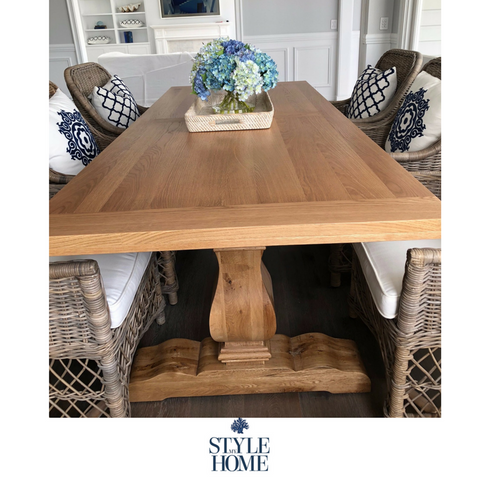 'CLEVELAND' Oak Dining Table