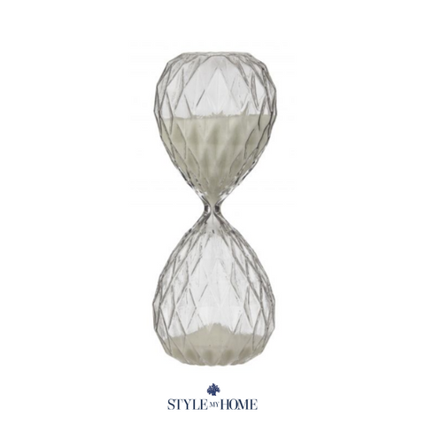Olive Decorative Hourglass