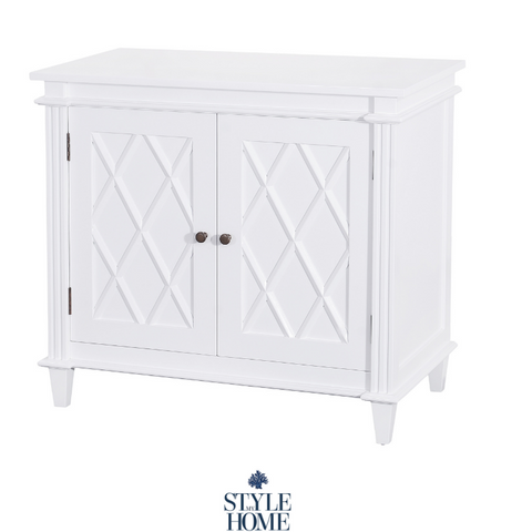 'Ascot' Luxury White Petite Buffet