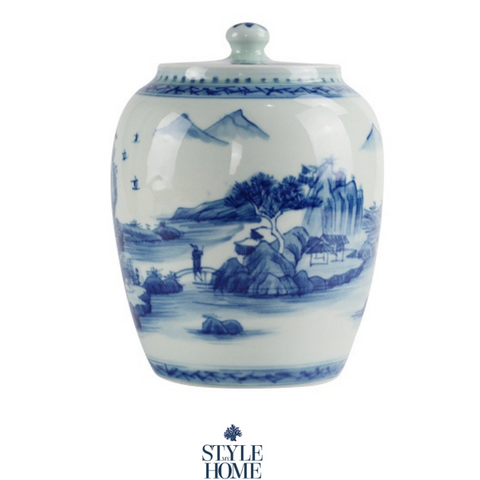 Imperial Countryside Jar 19cm