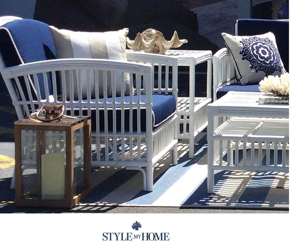south hampton blue outdoor undercover lounge setting style my home
