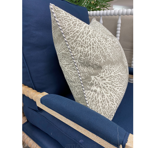 Sea Fan Coral Luxury Cushion