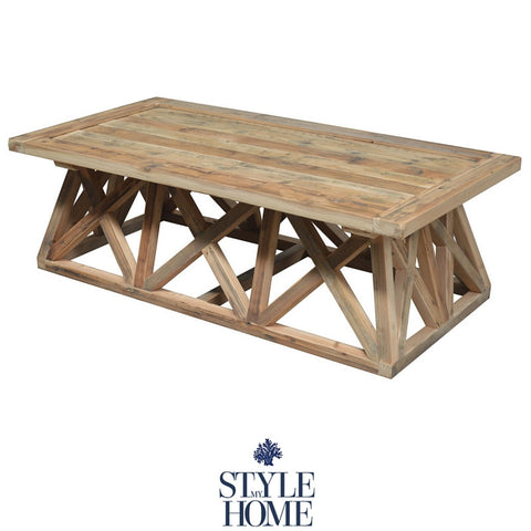 'HARVEY' Recycled Wood Coffee Table
