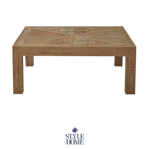 'HAMILTON' Square Recycled Wood Coffee Table